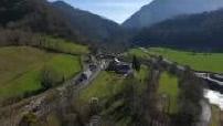 Vallée d'Aspe tournée par drone