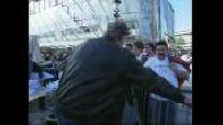 Tournage du spot promo pour les JO 2012 à Paris par Luc Besson