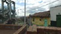 Vue aérienne par drone de Bogota
