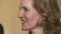 Primaires Les Républicains: Vote de Nathalie Kosciusko-Morizet et arrivée (nuit) à QG