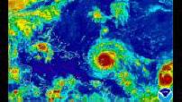 L'ouragan Irma traverse les Caraïbes