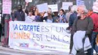 OFF - Manifestation contre les vaccins obligatoires décidés par le gouvernement