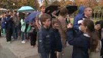 Journée du patrimoine : foule à l'Elysée
