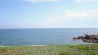 Vue aérienne par drone du bord de mer des Sables d'Olonne