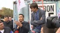 Glyphosate : blocage des Champs-Elysées par les agriculteurs + rencontre avec Nicolas Hulot