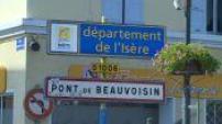 Carte postale de Pont de Beauvoisin