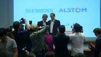 Off:Naissance de Siemens Alstom, futur numéro 2 mondial du ferroviaire