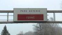 Travaux sur le Parc Asterix : installation des attractions Pegase Express et Icare