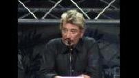 "Conférence Johnny Hallyday pour sa ""Tournée des stades"""