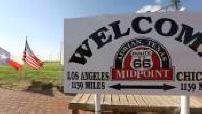 Route 66: Adrian, Texas