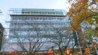 Façade Hôtel Hilton à Lyon