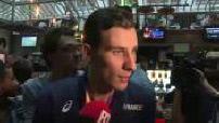 Arrivée à Paris de Pierre-Ambroise Bosse après sa médaille d'or du 800 m aux Mondiaux de Londres