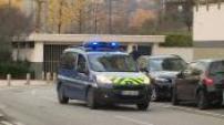 Disparition de Maëlys / mise en examen de Nordahl Lelandais : arrivée du fourgon au tribunal