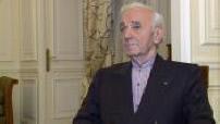 Itw Charles Aznavour à l'occasion de la sortie de son autobiographie