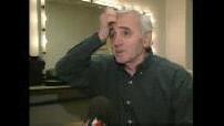 Itw Charles Aznavour + début concert au zénith de Nancy
