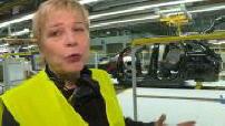 Citroën : Linda Jackson visite une usine Opel à Saragosse 4/5