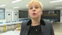 Citroën: Linda Jackson visit an Opel factory in Zaragoza 1/5