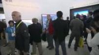 CES: indoor lounge / FF91 / Valeo 360AEB / NVIDIA