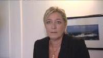 Elections senatorial: Marine Le Pen reaction and Nicolas Dupont-Aignan