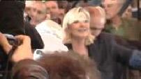 Agricultural Fair: Visit Marine Le Pen