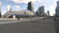 L'esplanade de la Défense : sièges d'Elior et du CNIT