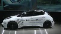 CES in Las Vegas: NIM (autonomous car) / Autonom shuttle