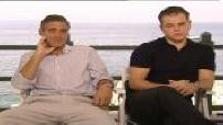 Ocean's 13 : ITW Clooney, Pitt, Gould, Cheadle, Damon et Garcia