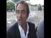 Itw de Bernard Giraudeau au Festival de Sotchi et présence de Richard Bohringer