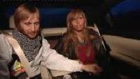 Arrivée de David et Cathy Guetta à Roissy