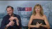 "ITW (junket) Julie Ferrier et François Damiens pour ""L'arnacoeur"""