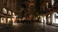 Haberdasher Street, Strasburg, night