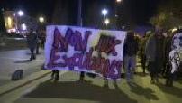 """Manifestation des """"Zadistes"""" dans le centre de Nantes"""