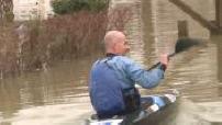 Inondation à Lagny sur marne