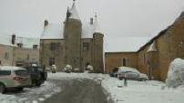 Sarthe in snow