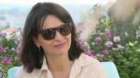 """Interview de Claire Denis et Juliette Binoche pour """" Un beau soleil intérieur"""" à Angouleme"""