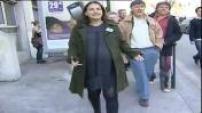 Municipales 2008 : Cécile Duflot bat la campagne enceinte de plus de 8 mois