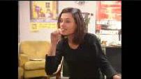 """ITW Maïdi Roth + ITW Virginie Ledoyen sur le tournage de """"Playback"""""""