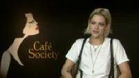"""Interview (junket) de Kristen Stewart à Cannes pour le film """"Cafe society"""""""