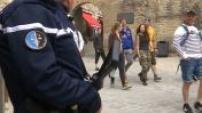 Patrouilles de gendarmes au Mont Saint-Michel suite à une menace terroriste