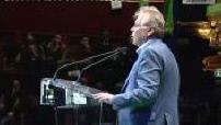 Présidentielle 2012 / Campagne électorale : dernier meeting d'Eva Joly au Cirque d'hiver (1/5)