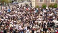 Wambrechies : marche blanche pour Angélique