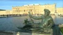 illustrations gardens of Versailles