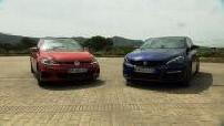 Match Peugeot 308 GTi Volkswagen Golf VII GTi