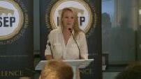 Inauguration de l'ISSEP + conf de presse de Marine Maréchal-Le Pen