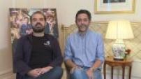 "Interview de Jonathan Cohen Monsieur Poulpe Manu Payet Xavier Gens sortie film ""Budapest"""