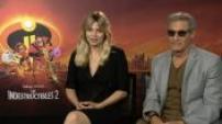 """Interview de Louane, Gérard Lanvin et Amanda Lear pour voix françaises """"Les Indestructibles 2"""""""