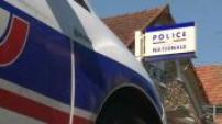 Agression couple de policiers : Illustrations domicile et Hôtel de police