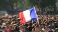 2018 World Cup: Joy fans in Paris
