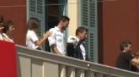Back to Hugo Lloris in his town in Nice