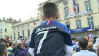 Antoine Griezmann accueilli en héros à Mâcon, sa ville natale